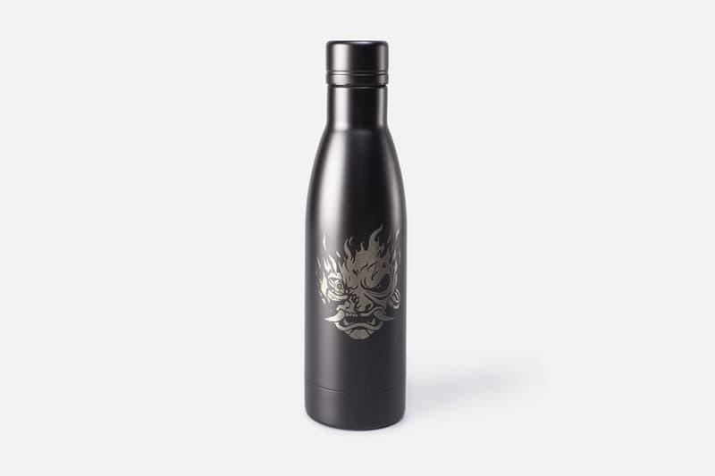 'Cyberpunk 2077' Keanu Reeves-Inspired Merch johnny silverhand character samurai refused video game september 2020 april 10 release date info buy hoodie water bottle tee shirt bag backpack CD Projekt Red