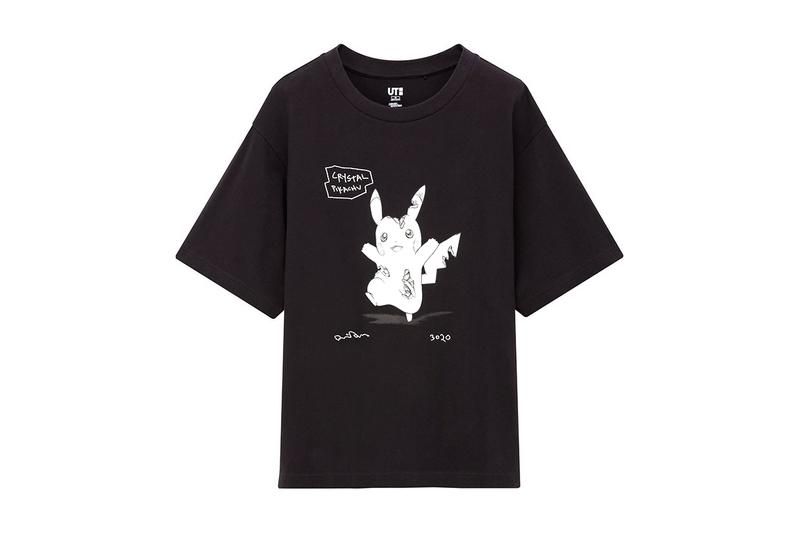Daniel Arsham Uniqlo UT Pokémon Collab Collection Release Info Buy Price T Shirt Jigglypuff Pikachu Mewtwo