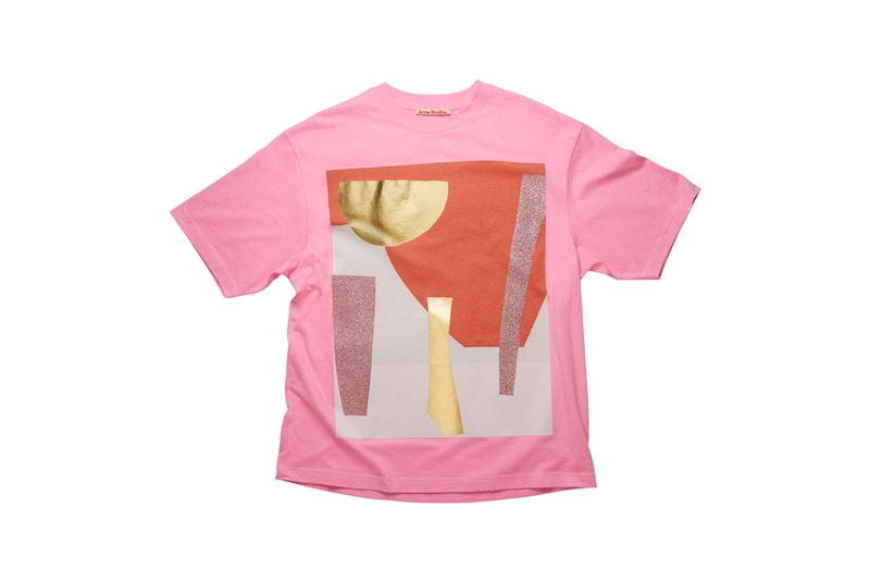 daniel silver acne studios t shirt special edition capsule tees fashion clothing apparel style