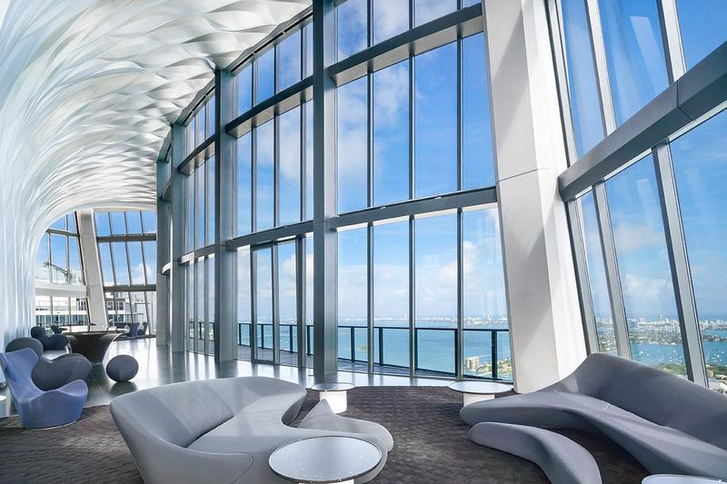 David Beckham 1000 m2 Miami Penthouse Condo one thousand museum zaha hadid design architecture team soccer football player inter milan manchester united mid field Paris Saint Germain