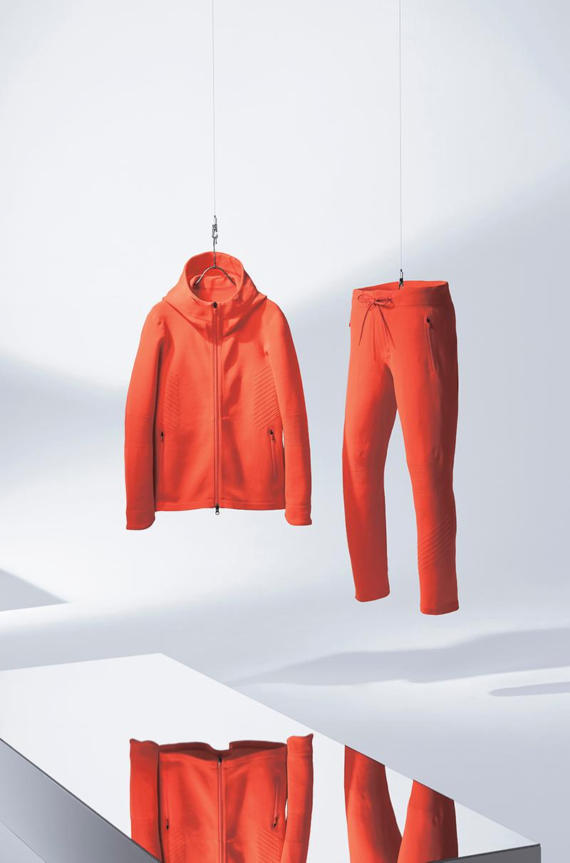 Descente ALLTERRAIN Fusion Knit Collection Schematech Engineered Knits Fitness Focus Performa Cut Performance Wear Active Athleisure