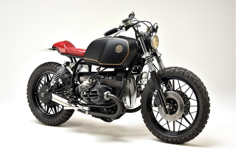 deus ex machina motorcycles bike harajuku japan branch custom two face bmw r100rs 1982