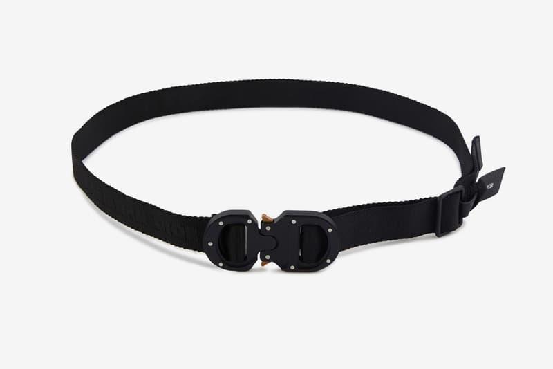 Dior 25mm Buckle Belt Release Info Buy Price Black