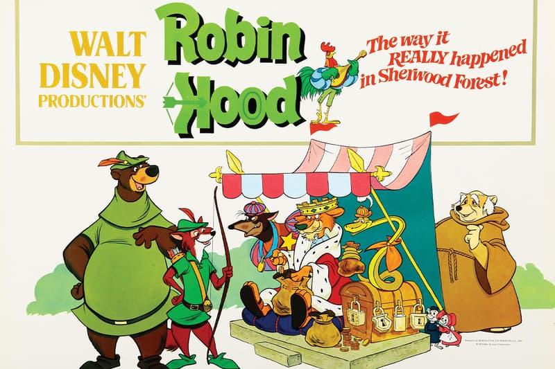 Disney Plus Robin Hood CGI Remake Info the lion king