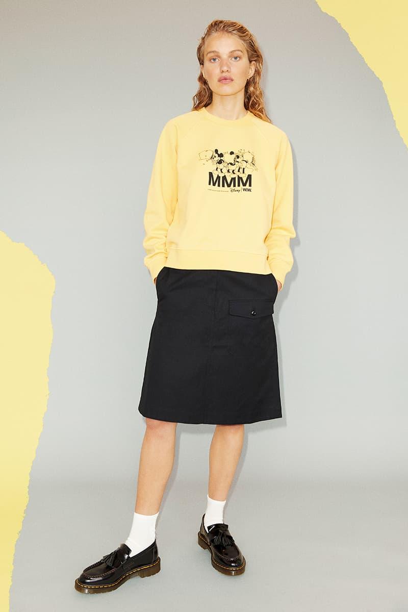 disney wood wood mickey minnie mouse mmm spring summer 2020 t-shirt hoodie shirt logo graphic hat sweatshirt buy cop purchase copenhagen