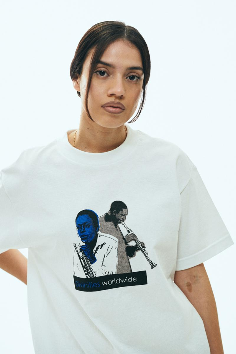 DIVINITIES Spring 2020 Collection Lookbook streetwear los angeles '90s graphics t-shirts pants screenprint