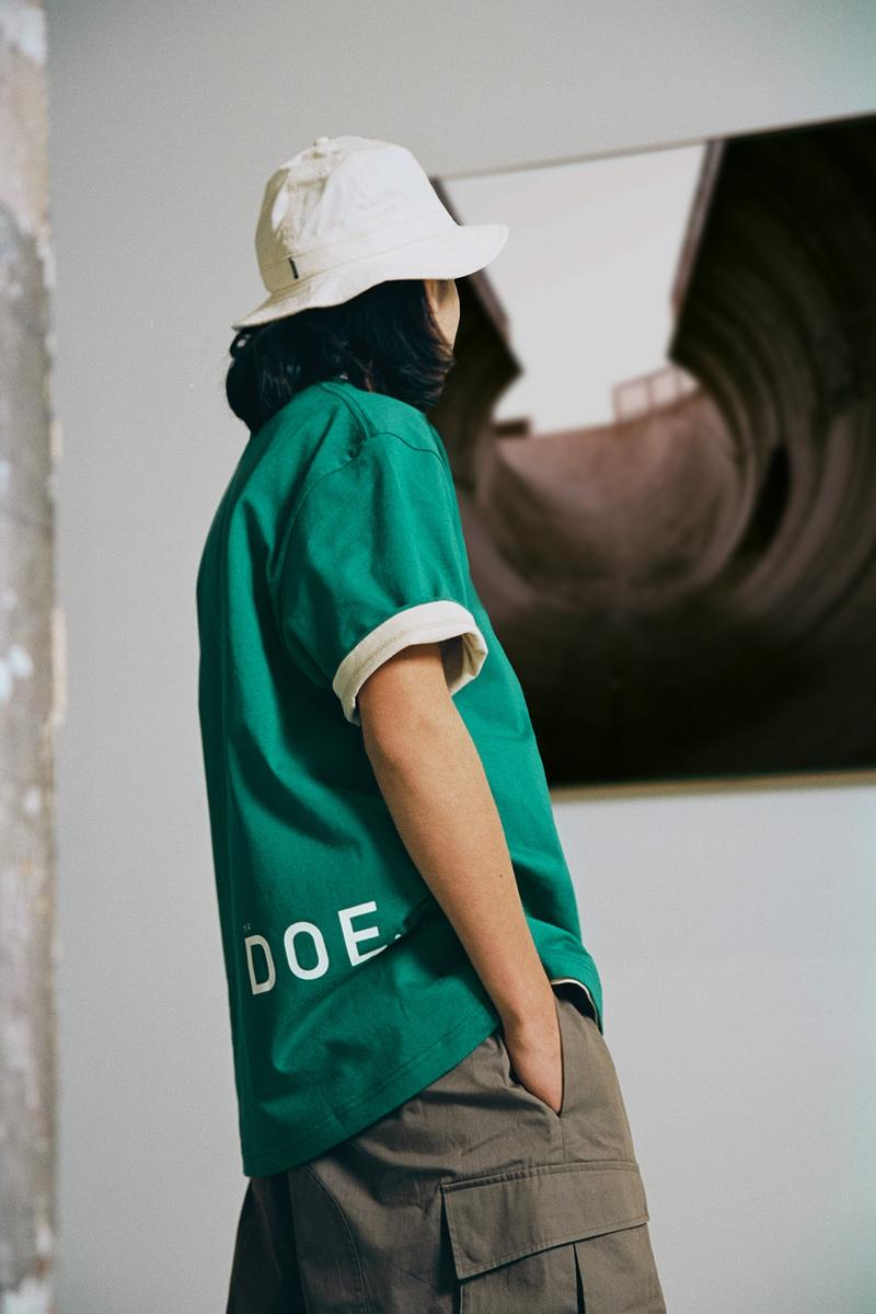 "DOE SS20 ""Boundary"" Lookbook Shanghai clothing fashion Retail shirts cargo shorts graphic tees streetwear summer DOE"