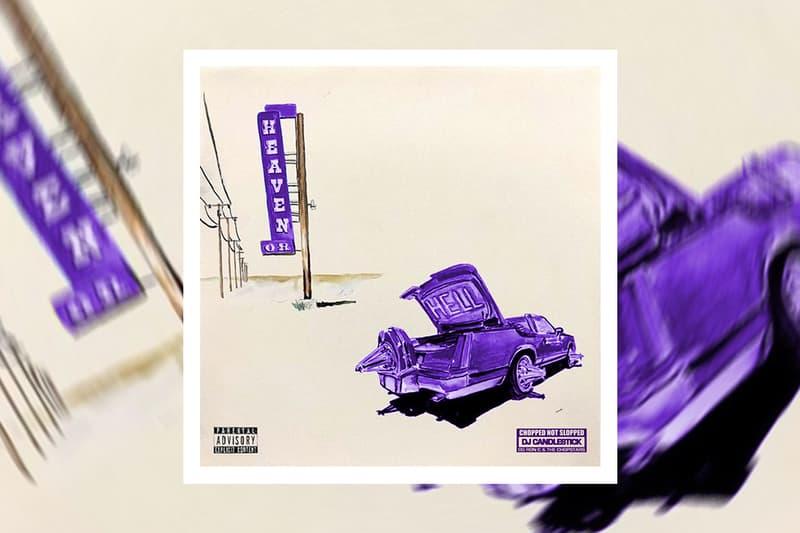 Don Toliver 'Heaven or Hell (CHOPNOTSLOP REMIX)' Album Stream hip-hop rap houston h-town dj candlestick og ron c & the chopstars houston graffiti park nicky davis