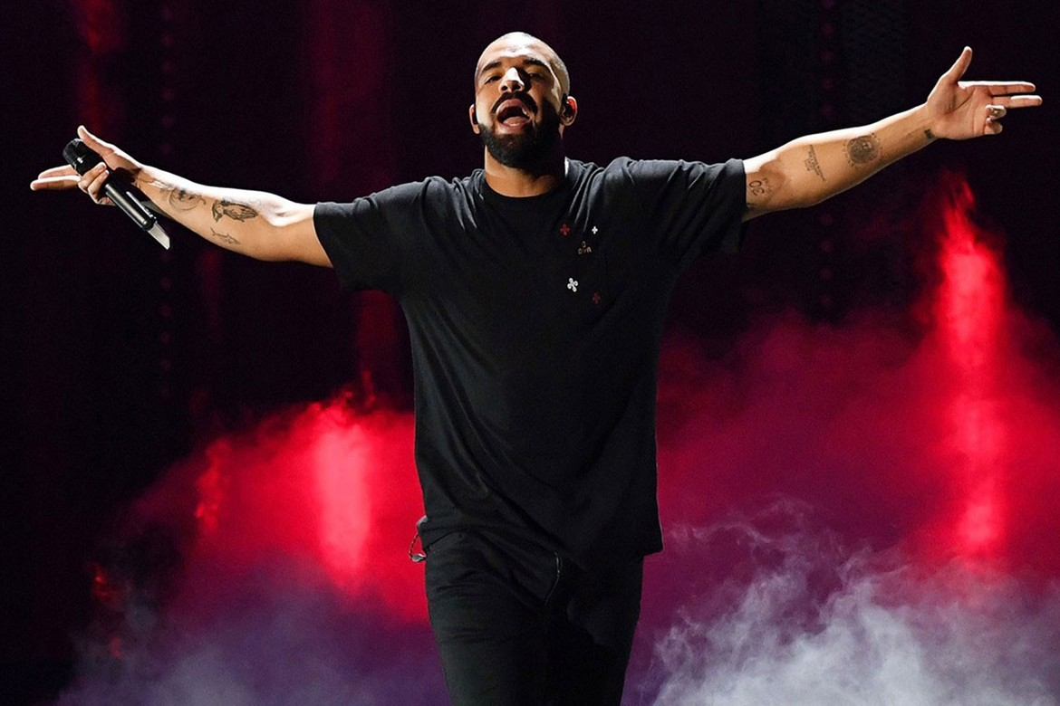 "Drake Enters COVID-19 Relief ""All In Challenge"" 