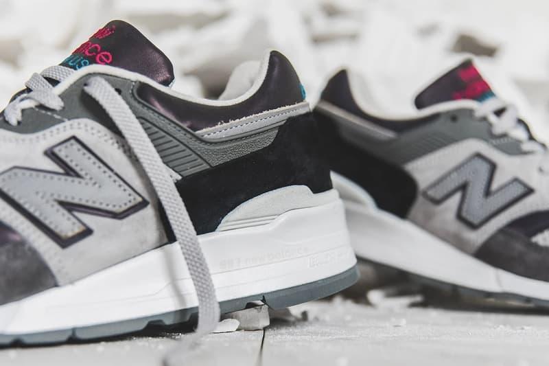 "DTLR-Exclusive New Balance 997 & 997S ""Greek Gods"" Pack Release Information Drop Date NB Sneakers Footwear Collaboration Lookbook Editorial Iridescent Colorways"