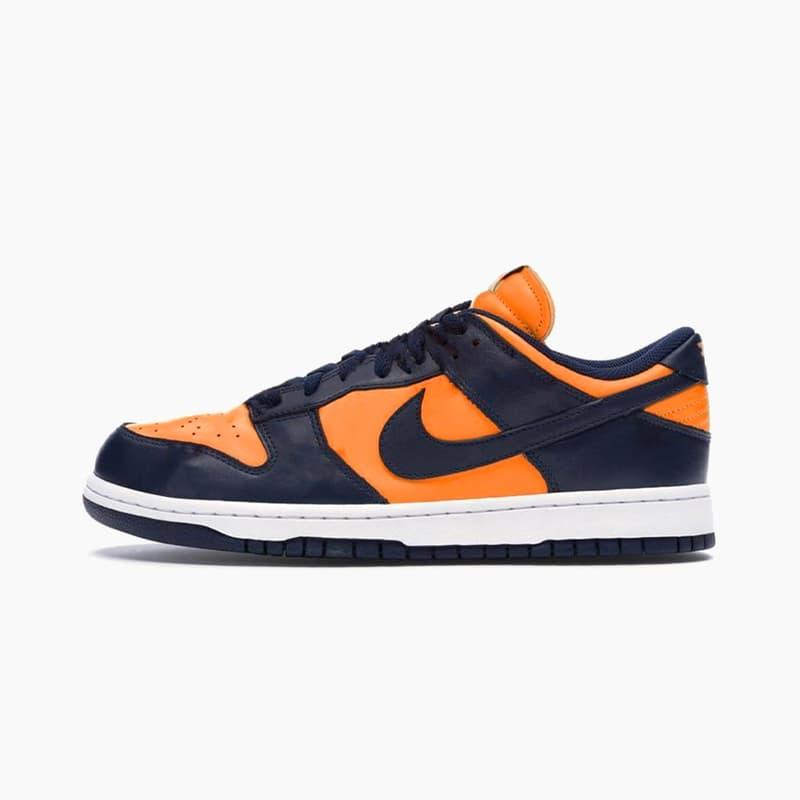 "Nike Dunk Low SP ""University Orange/Marine"" Release 2020 Where to Buy"