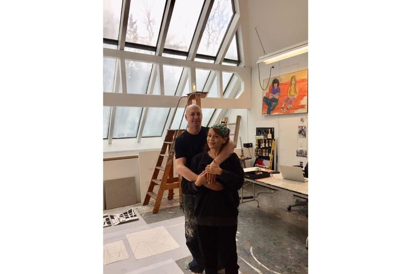 Eric Haze Elaine de Kooning House Residency Long Island East Hampton Isolated Lockdown Portraits Paintings