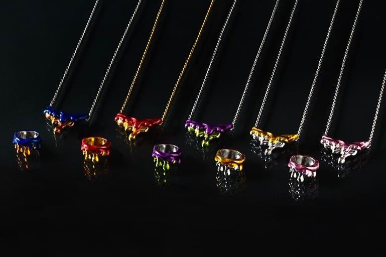 neon genesis Evangelion x Q-pot Jewelry Capsule Release Info necklaces rei ayanami Katsuragi Misato mech biscuit pendant pill 9mg  spear of longinus eva unit