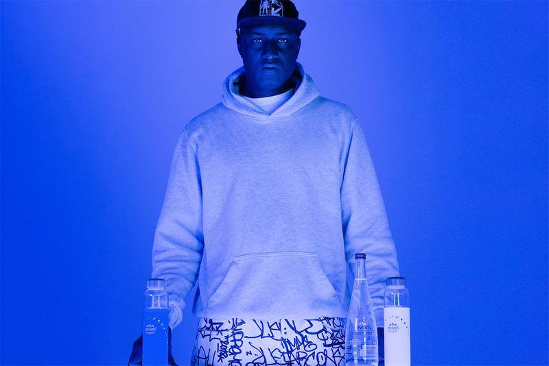evian virgil abloh certified carbon neutral trust activate movement project sustainable sustainability information details