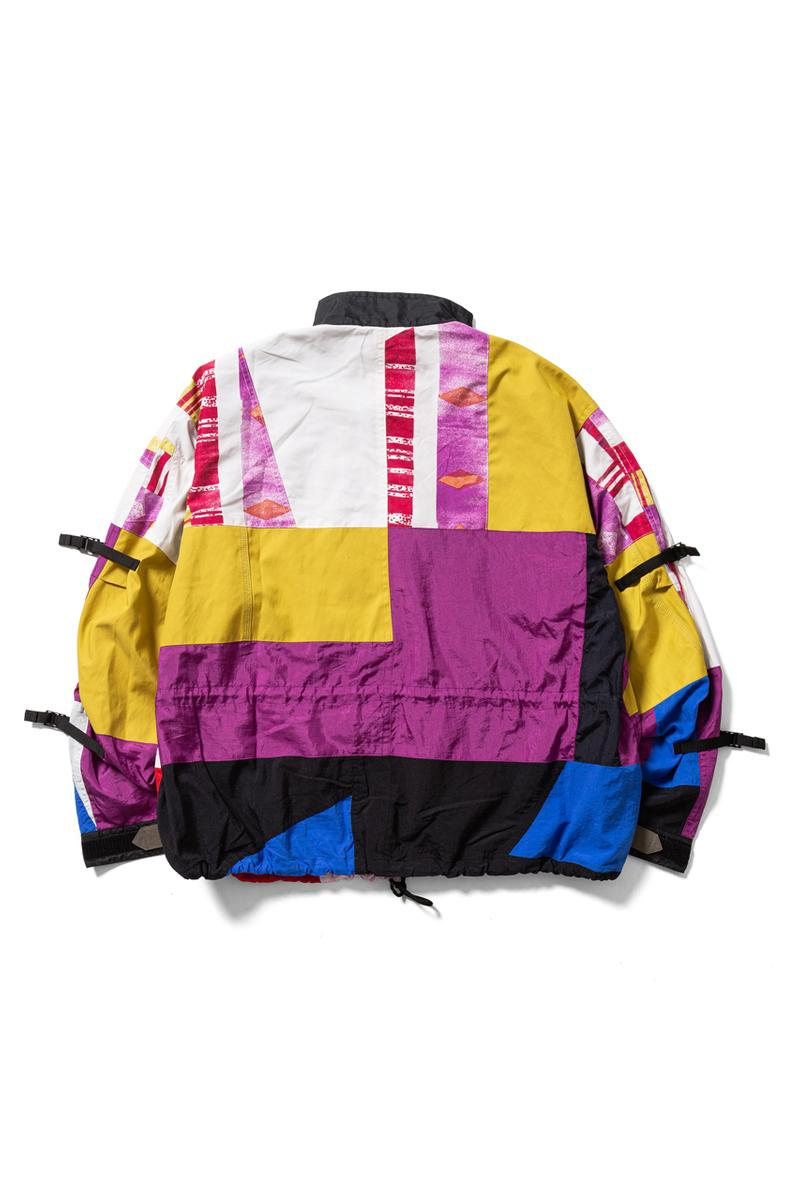 F LAGSTUF F Deconstructed Ski Jackets menswear streetwear japanese spring summer 2020 collection graphics prints reconstruction outerwear alpine retro sports winter jacket