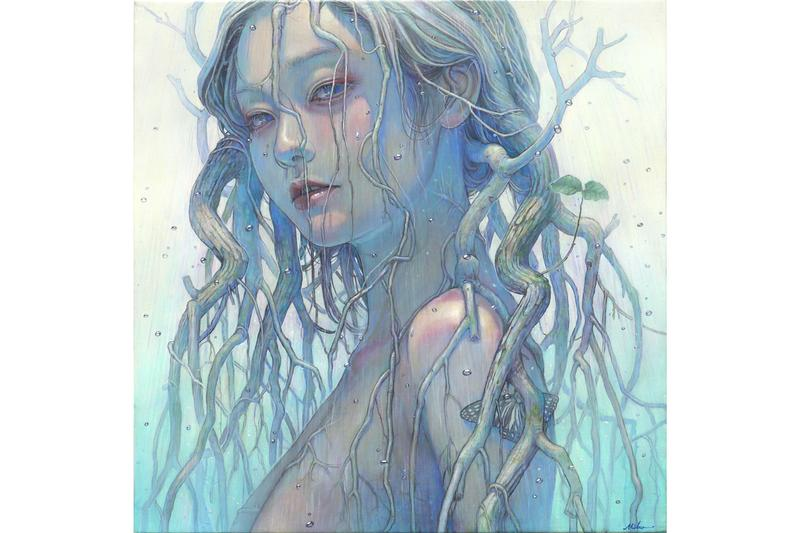 """Fantastical Beasts"" Group Exhibition Corey Helford Gallery Paintings Illustrations Creatures Animals Unicorns Octopus The London Police Lauren Marx Kazuki Takamatsu Miho Hirano Kristen Liu-Wong"