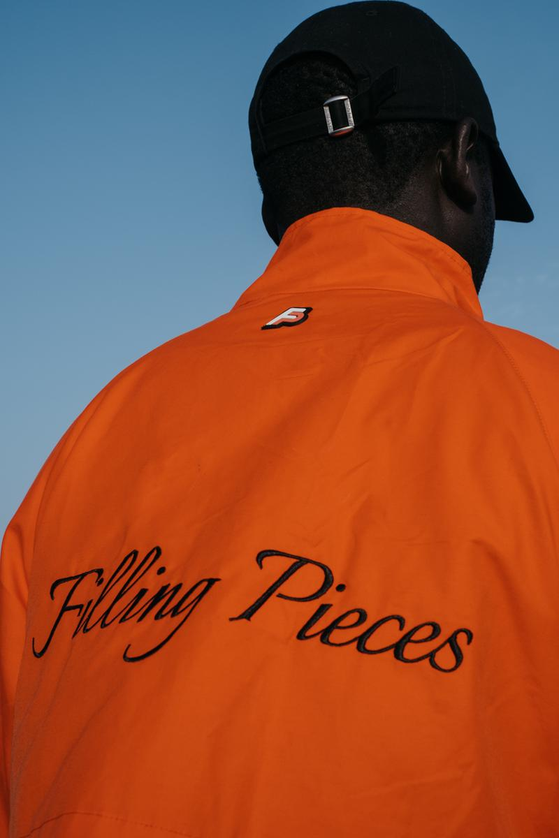 Filling Pieces Spring/Summer 2020 Collection Dakar Senegal Miftha Bahardeen Dieylane Cisse Fictional Family T-shirts Shorts Vests Jackets Blazers Trousers Track Sets Formal Dress Shoes