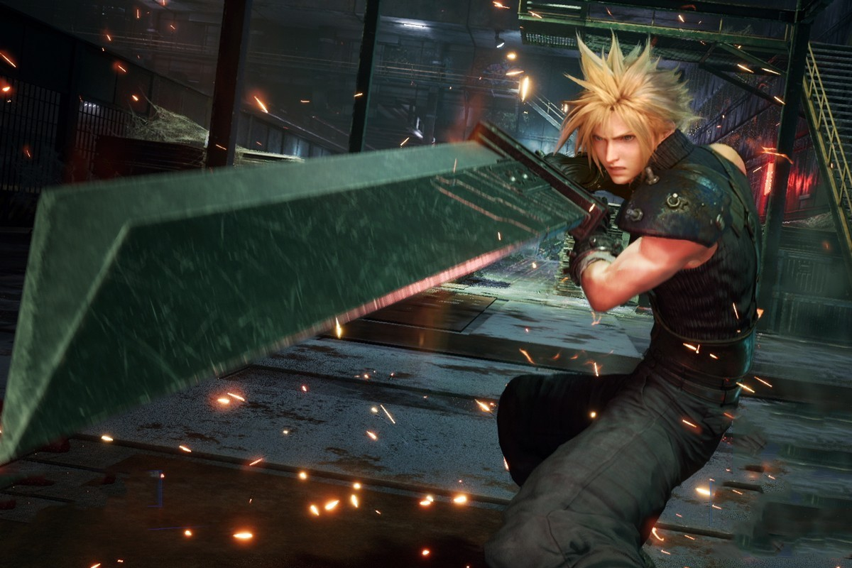 Square Enix Final Fantasy VII Remake Review Spoiler Tetsuya Namoura Kingdom Hearts PlayStation 4 video game fantasy rpg Jrpg japan
