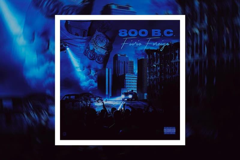 Fivio Foreign Shares New '800 B.C.' EP before corona brooklyn drill nyc rap hip-hop sony music wetty big drip spotify apple music meek mill lil tjay