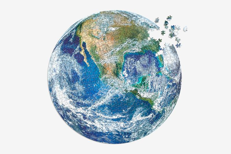 Four Point Puzzles Earth Day Puzzle 50th anniversary Western Hemisphere Pacific Ocean NASA image