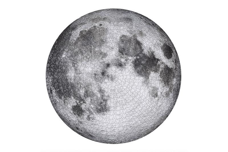 four point puzzles apollo 11 50th anniversary NASA space moon landing
