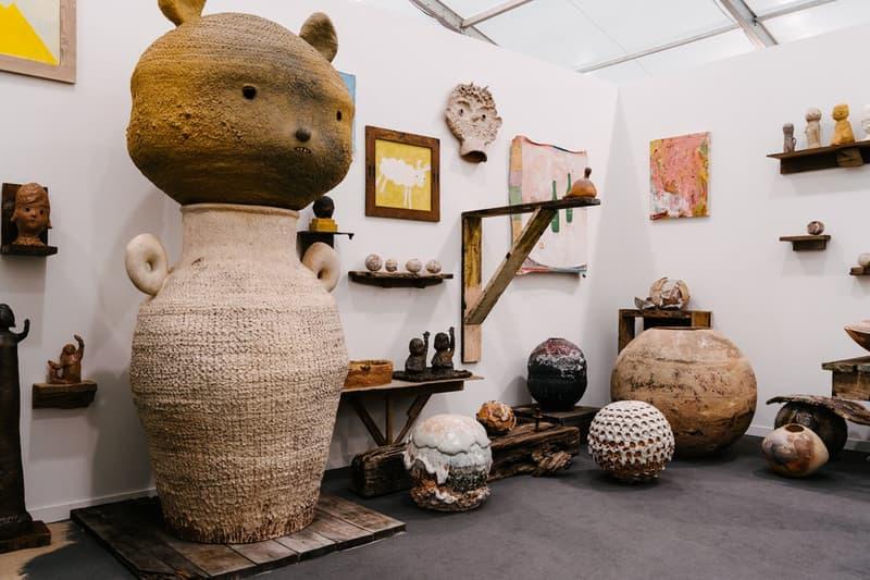 frieze fair artworks paintings sculptures contemporary art