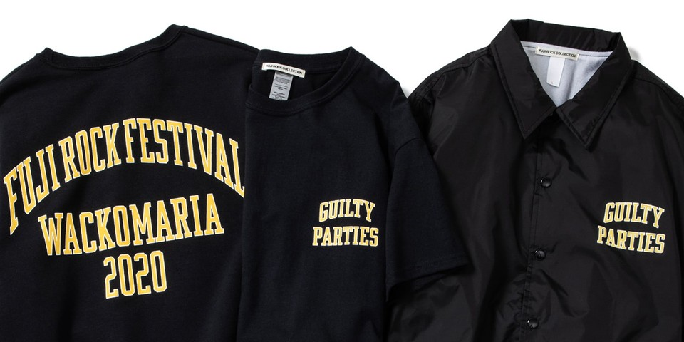 Fuji Rock Festival Partners With WACKO MARIA for Collab Merch
