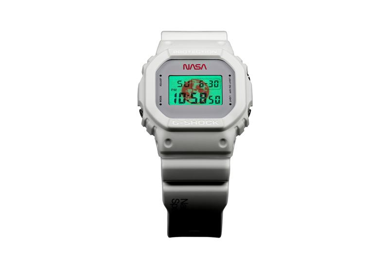 G-Shock NASA DW5600NASA20-7CR casio watch timepiece collaboration astronaut american flag set National Aeronautics and Space Administration all systems go