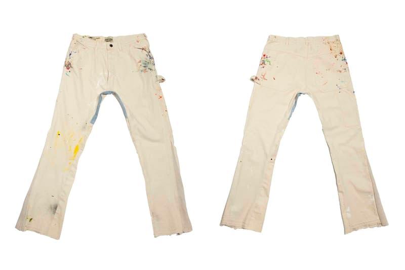 GALLERY DEPT. Flare Sweat Pants LA Flare Carpenter Release White Black Tan Info Buy Price