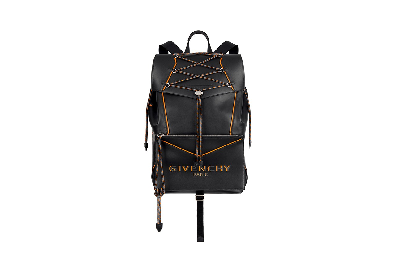 Givenchy Bond Bag Summer 2020 Mens Collection Original Shopper Backpack Belt Bag Duffle Crossbody Clare Waight Keller Strings Chains Detailing Release Information