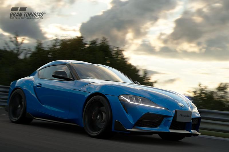 'Gran Turismo Sport' April 2020 Updates Toyota GR Supra RZ '20 Model Japan Car Racing Games Sport Mode FIA Races Qualifying Penalty System Polyphony Digital