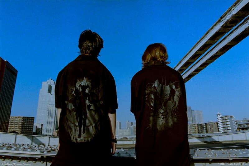 Yohji Yamamoto Ground Y Devilman Manga Collaboration Collection
