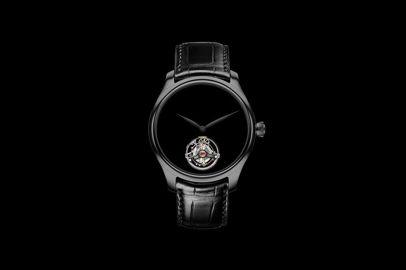 H. Moser & Cie Vantablack Venturer Watch News Tourbillon endeavour swiss dress watch mechanical