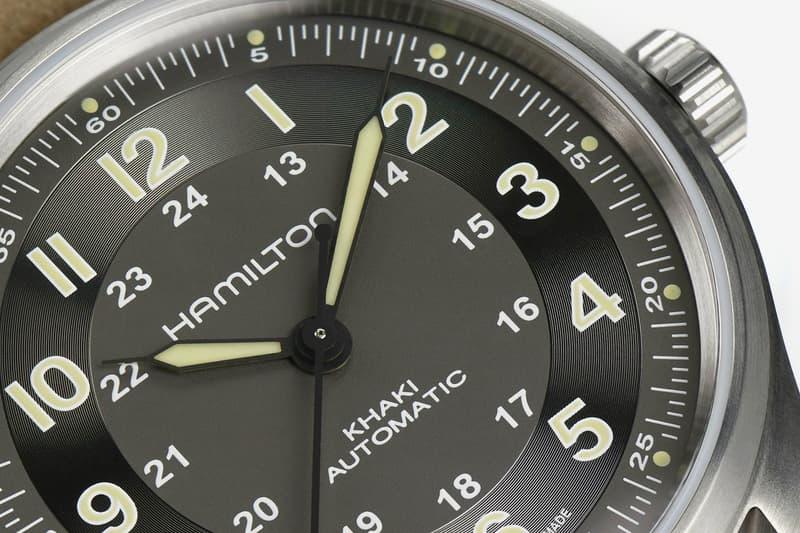 Hamilton Khaki Field Titanium model Refresh update light tactical 42mm H 10 automatic movement 80-hour power reserve fauxtina lume option