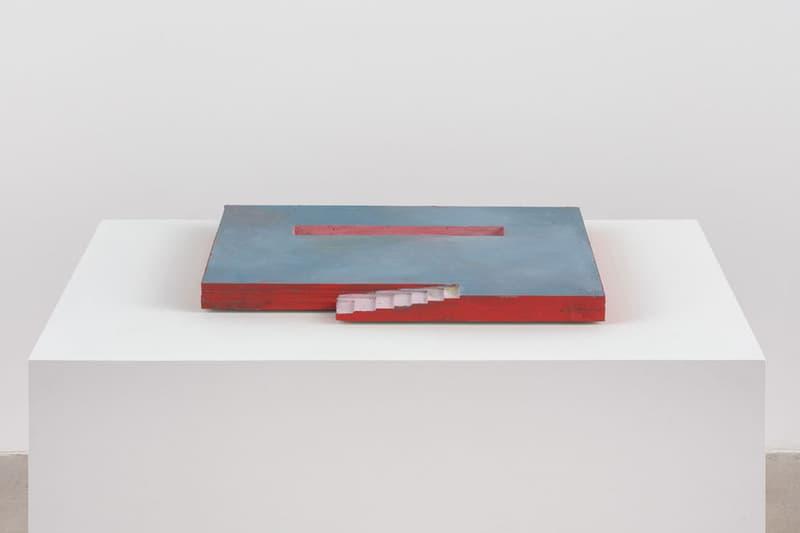 "Harold Ancart ""Pools"" David Zwirner Gallery Styrofoam Sculptures Swimming Pools 3D Concrete Basin Stairs"