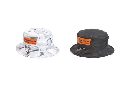 Heron Preston's Nylon Bucket Hats Offer Transitional Spring Staples
