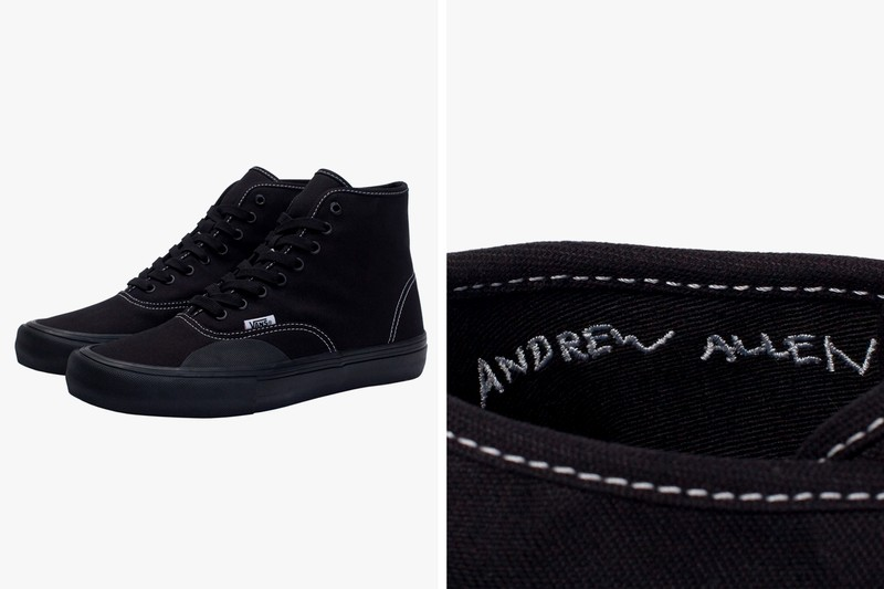 Reinforcing Details Define The Hockey X Vans Authentic Hi Aa Sneakers Cartel