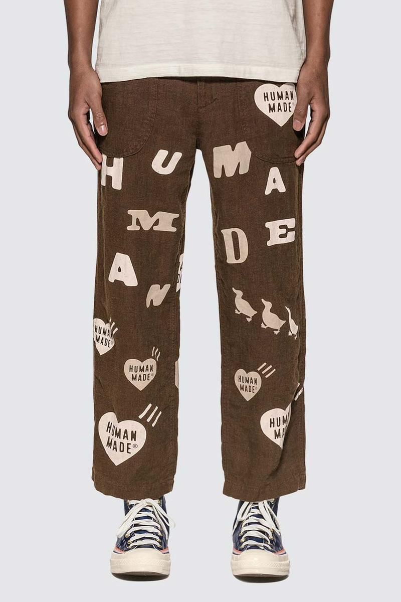 human made spring summer 2020 collection release t shirt 1901 deck pants all over print nigo