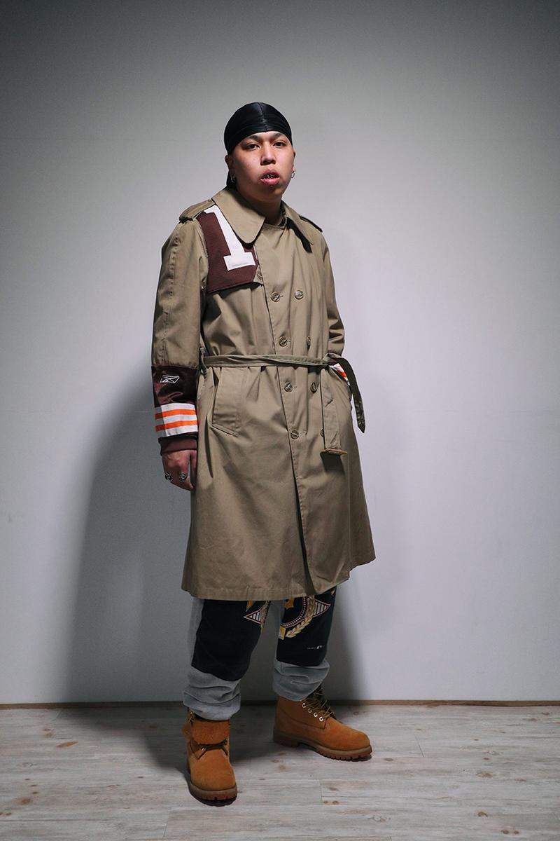 Ichiryu made x Awesome Boy Fall/Winter 2020 Remake Collection Upcycling Sustainability Remade Reworked Vintage Clothing Champion Coogi Sweater