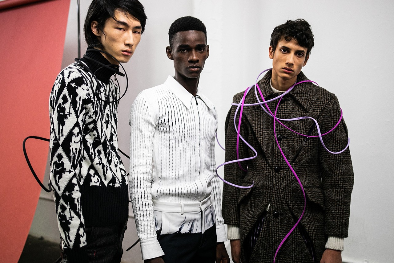 Four British Designers Discuss Fashion During a Pandemic Bianca Saunders Daniel W. Fletcher Charles Jeffrey LOVERBOY Stefan Cook Jake Burt COVID-19 Coronavirus Industry Talks Helping Independents Young labels Brands Menswear London Global Crisis