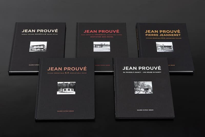 jean prouve architecture book set galerie patrick seguin