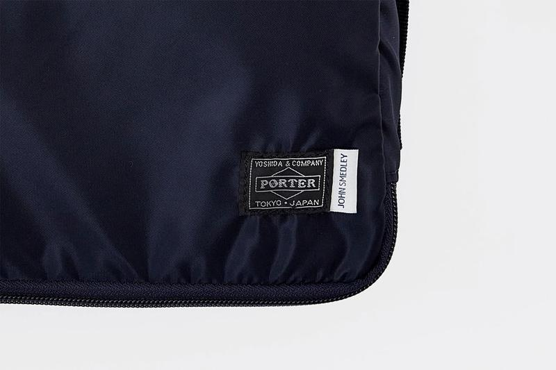 John Smedley x PORTER Knitwear Travel Cases collaboration bag japan yoshida kaban