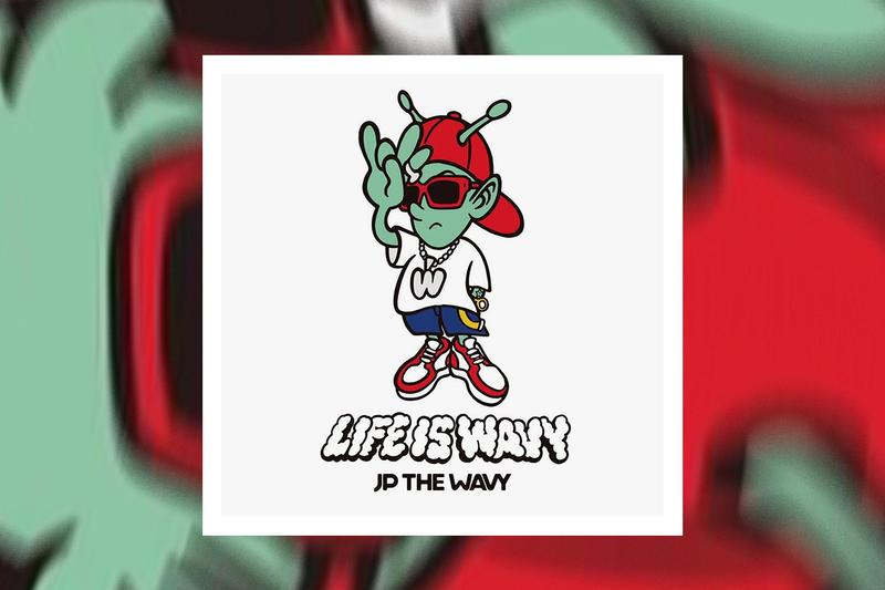 JP THE WAVY 'Life Is Wavy' Debut Album Stream japanese hip-hop rap verbal listen now spotify apple music miyachi sik-k verdy bpm tokyo