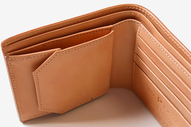 KAPITAL natural Leather Hand Carved Sewing Machine motif Wallet union special drop release info