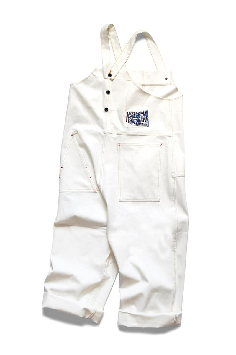 KAPITAL Denim HAPPY Overalls menswear streetwear japanese label brand okayama spring summer 2020 collection indigo white deconstructed kountry japan