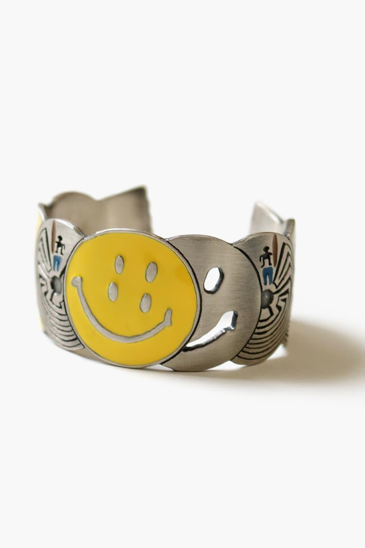 Kapital Smiley Rings brass maze design ss20 spring summer 2020