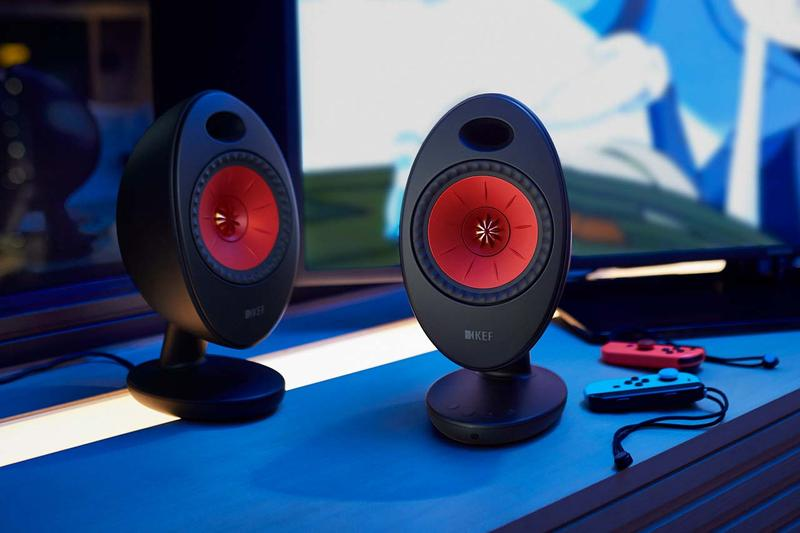 kef egg duo digital sound system launch speakers speaker spring 2020