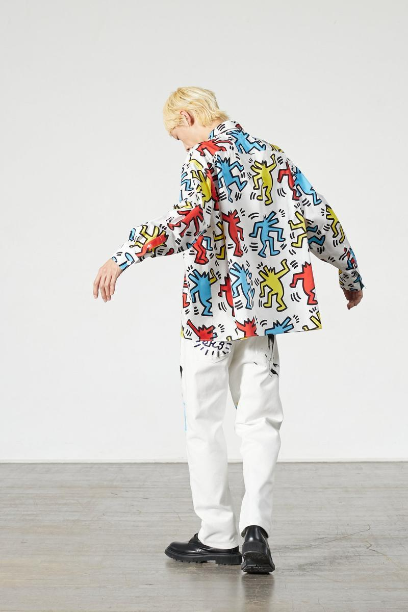 Keith Haring x Études Collaboration SS20 Collection Graffiti Artist Paintwork Clothing Multicolor