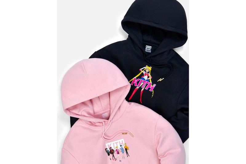 Sailor Moon x KITH Capsule Collection Teaser Sailor Scouts Mercury Venus Mars Pluto Anime Tuxedo Mask New York Streetwear