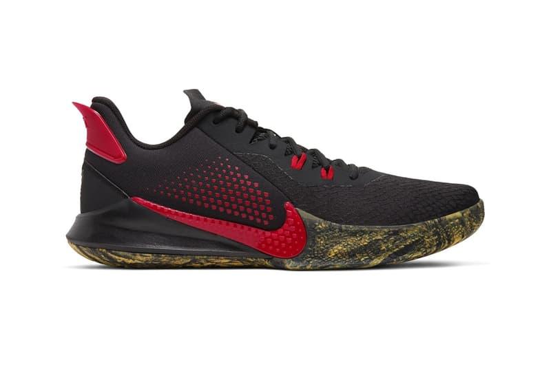 kobe bryant nike basketball mamba fury black red yellow grey release date info photos price